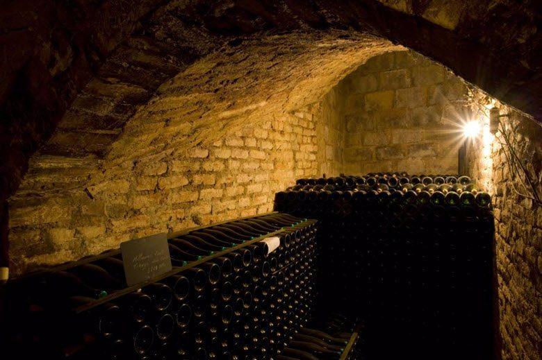Vindistriktet Champagne i Frankrike