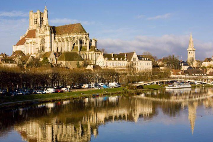 Vindistriktet Burgund i Frankrike