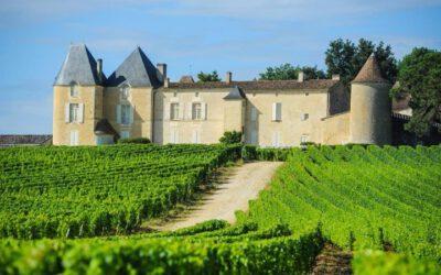 Vindistriktet Bordeaux i Frankrike