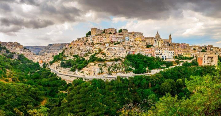 Vindistriktet Sicilia i Italia