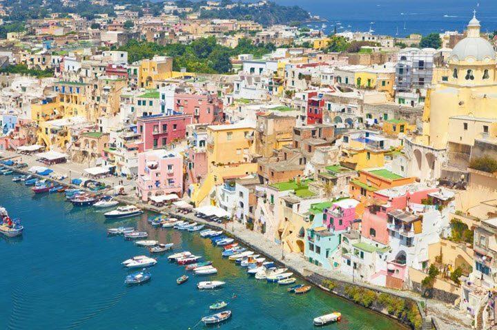 Vindistriktet Campania i Italia