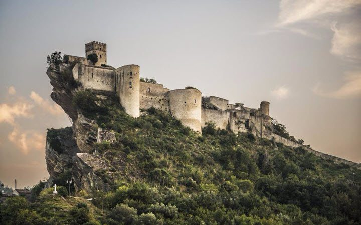 Vindistriktet Abruzzo i Italia