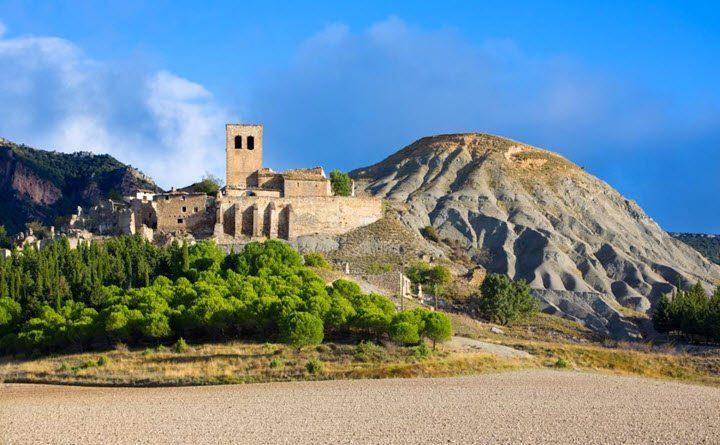 Vindistriktet Aragon i Spania