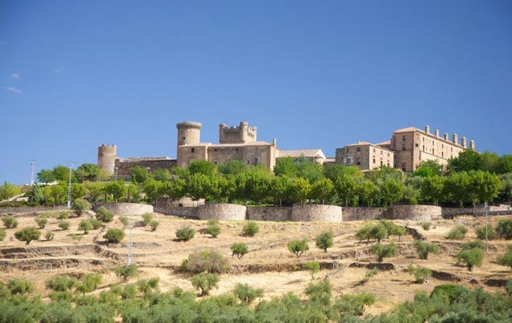 Vindistriktet Castilla-La Mancha i Spania