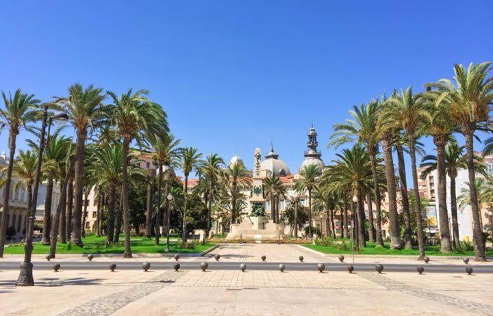 Vindistriktet Murcia i Spania