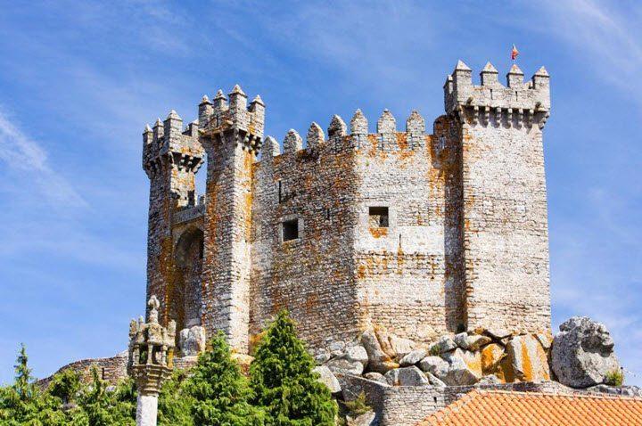 Vindistriktet Beiras i Portugal