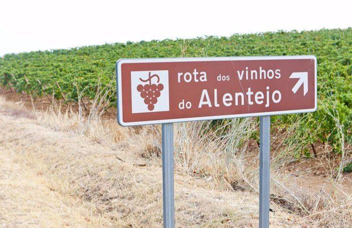 Vindistriktet Alentejo i Portugal