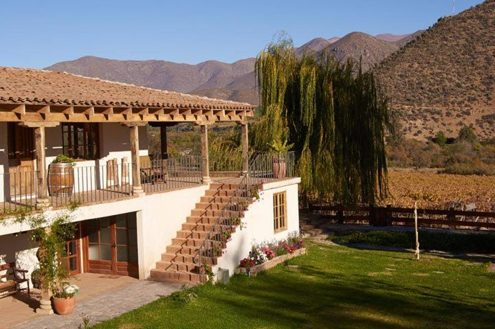 Vindistriktet Rapel Valley i Chile