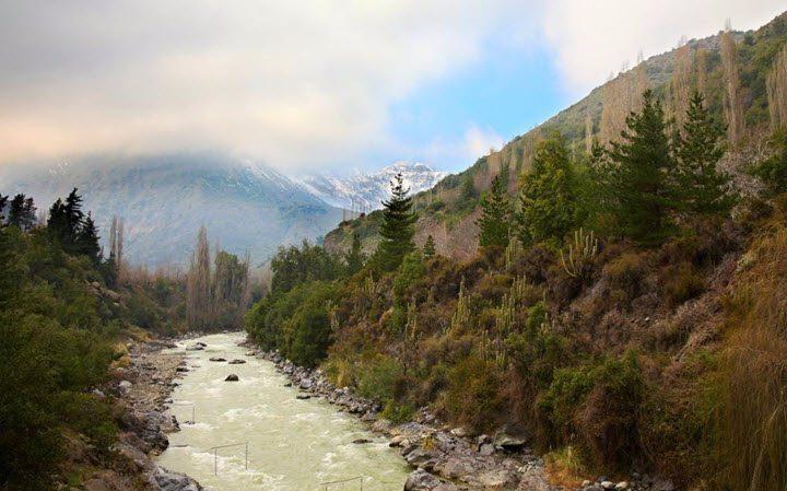 Vindistriktet Maipo i Chile