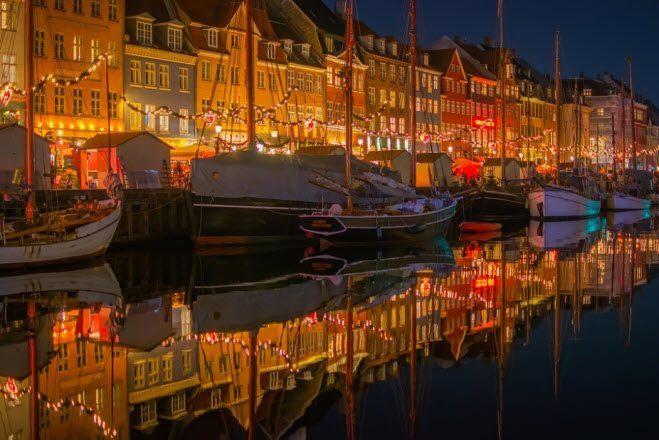 Reis til Danmark og kjøp vin