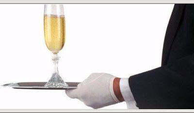 Riktig rekkefølge på servering av vin