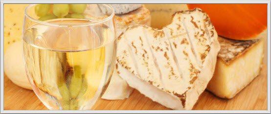 Slik velger du riktig hvitvin til ost